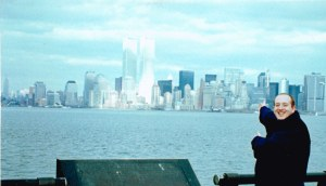 The view from Liberty Island in 1999