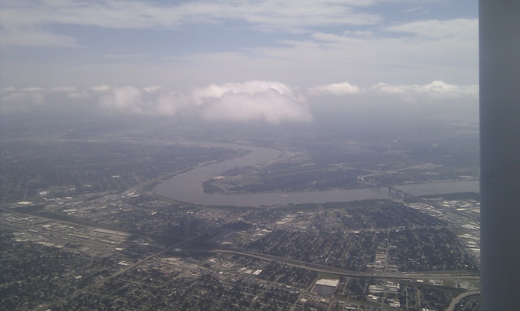 New Orleans from above