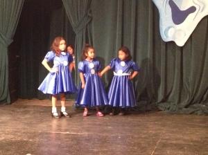 Three of five dolls