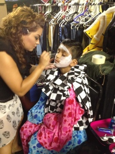Comedy in make-up