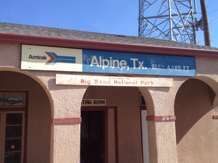 Alpine Amtrak station