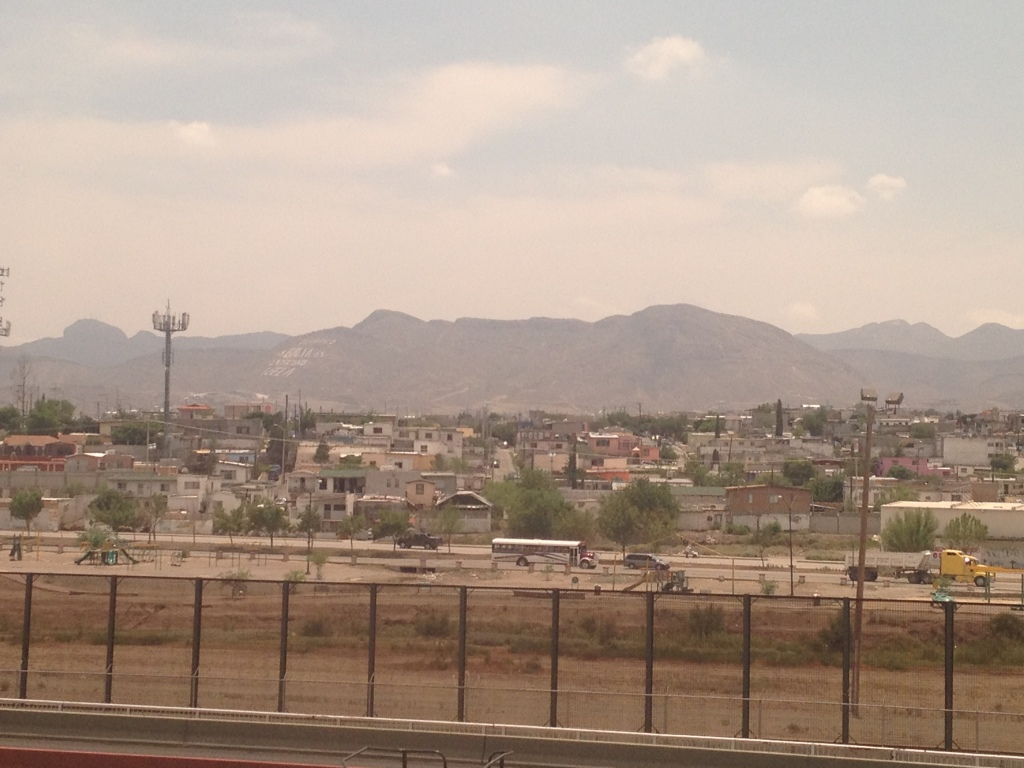 Border fence between USA and Mexico
