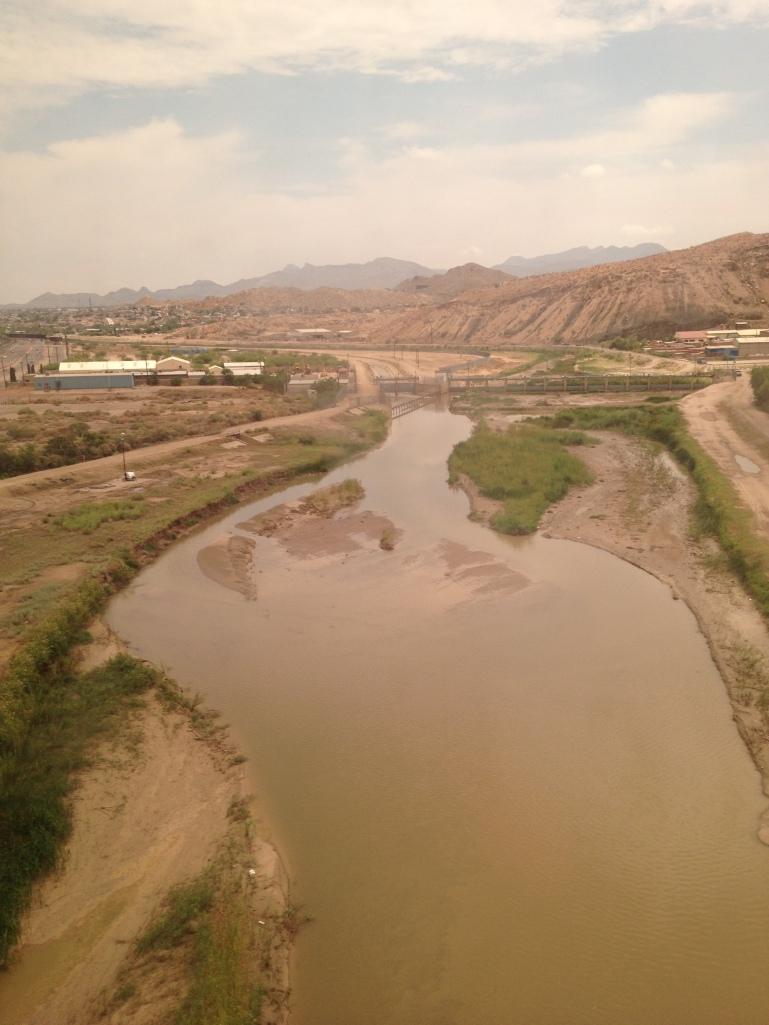 crossing the Rio Grande in the US