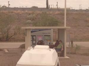Deming station shelter