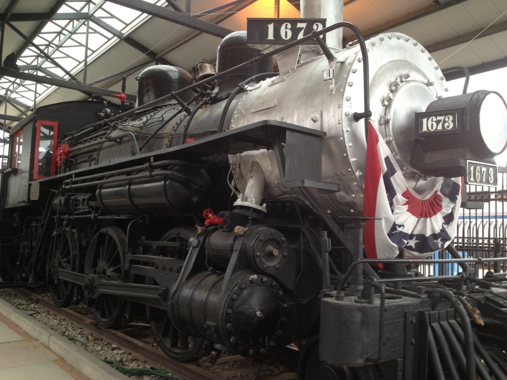Locomotive 1673