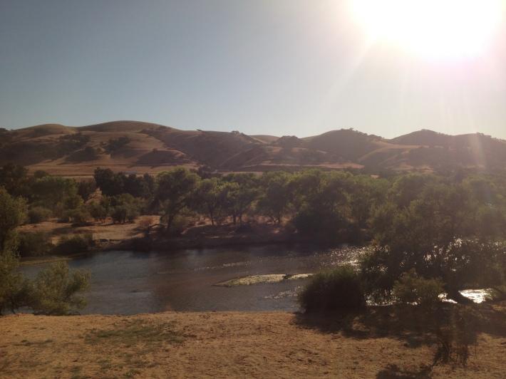 Southern Salina river