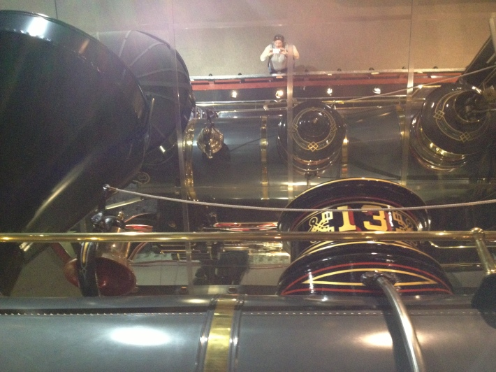 Reflections of a locomotive and an author