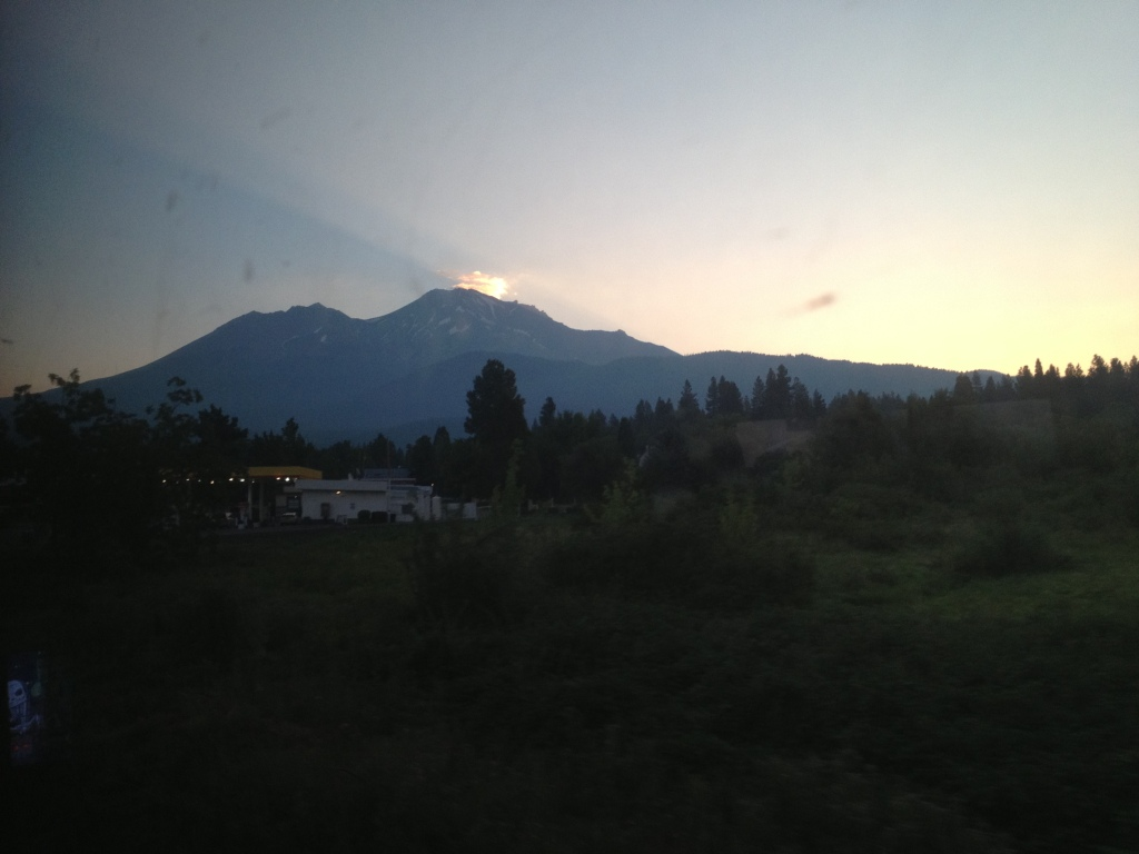 Sunrise over Mount Shasta