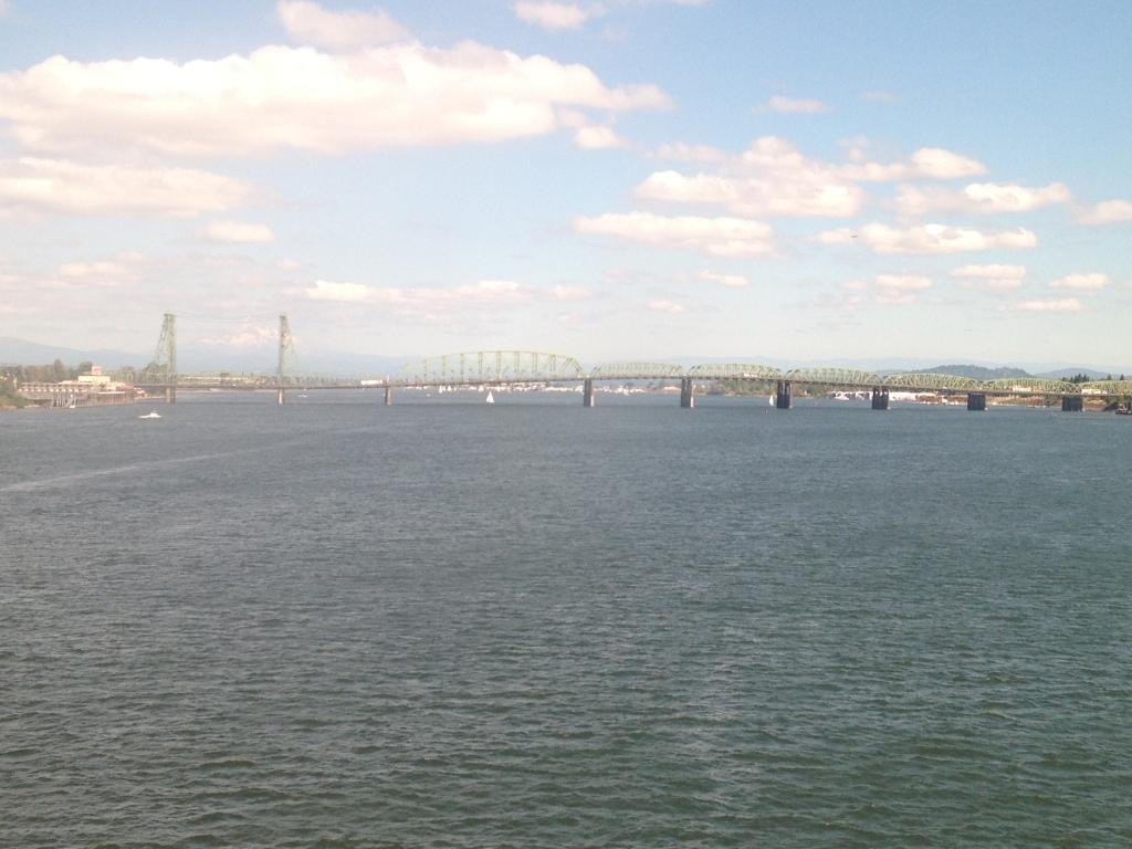 Bridge over Columbia river