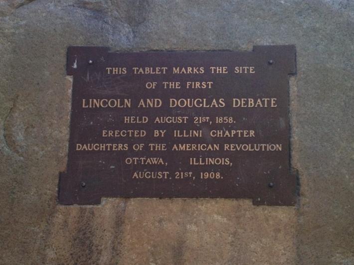 Lincoln Douglas stone