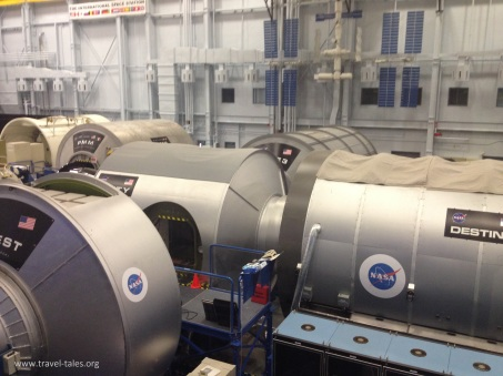 ISS training sections