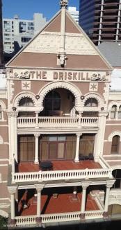 Driskill balconies
