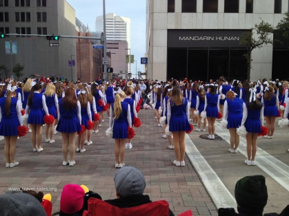 UCA performing - facing the other side of the street unfortunately