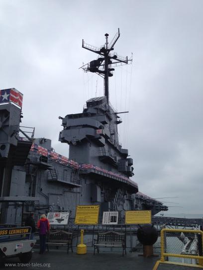 USS Lexington island
