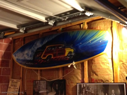 Texas Surf Museum Board art