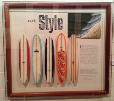 Texas Surf Museum Style cabinet