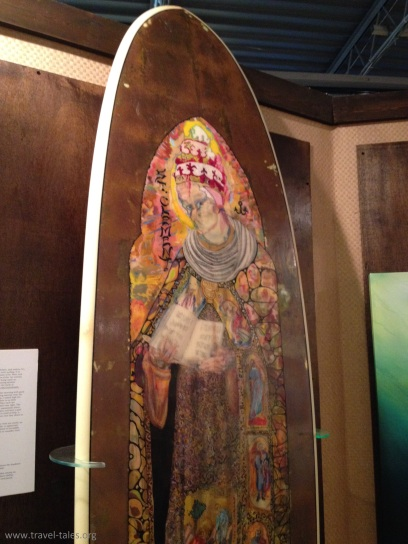 Texas Surf Museum holy board