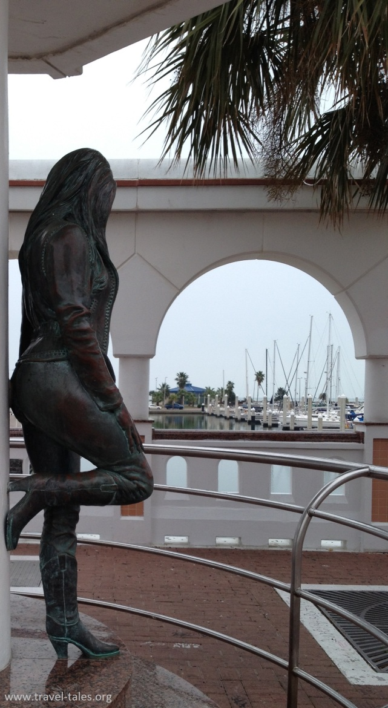 Selena to the sea