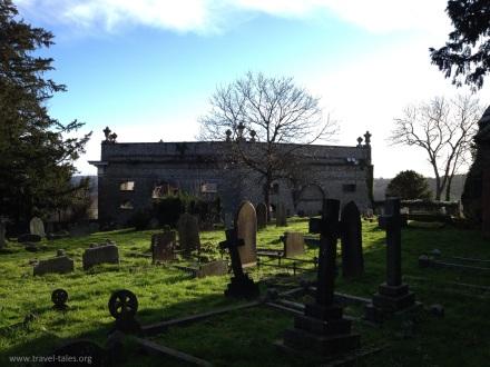 From churchyard