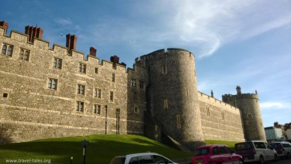 Windsor castle wall