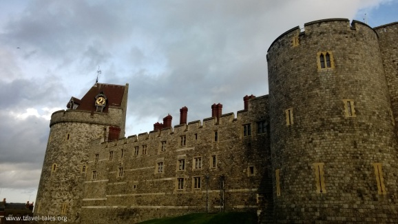 Windsor castle wall