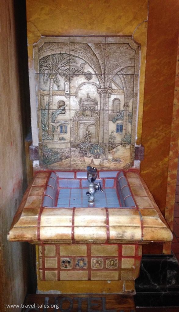 Gadsden drinking fountain