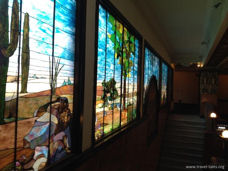 Gadsden Tiffany window