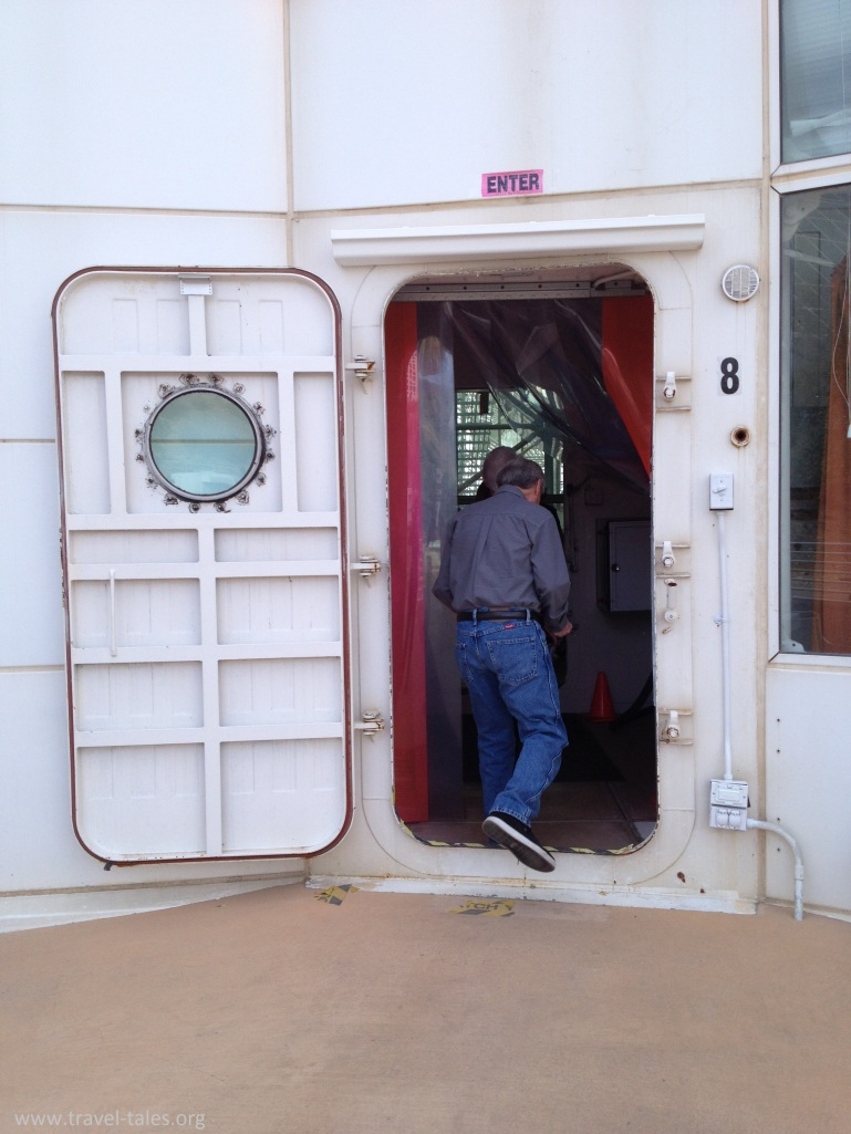 biosphere sealed door