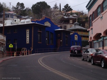 Bisbee coloured houses 2