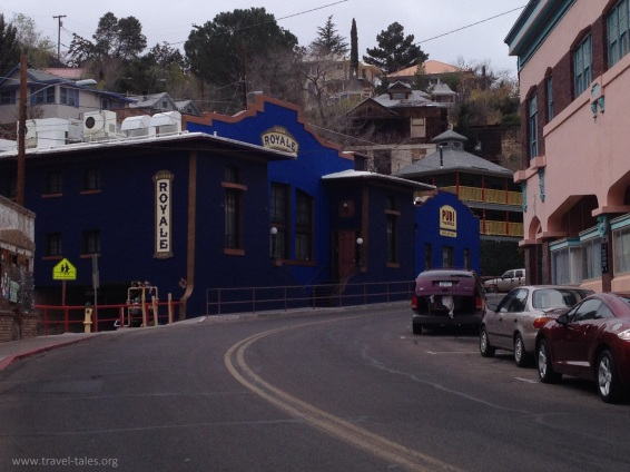 Bisbee coloured houses 2