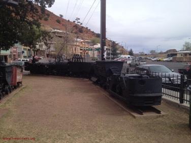 Bisbee mine trolley