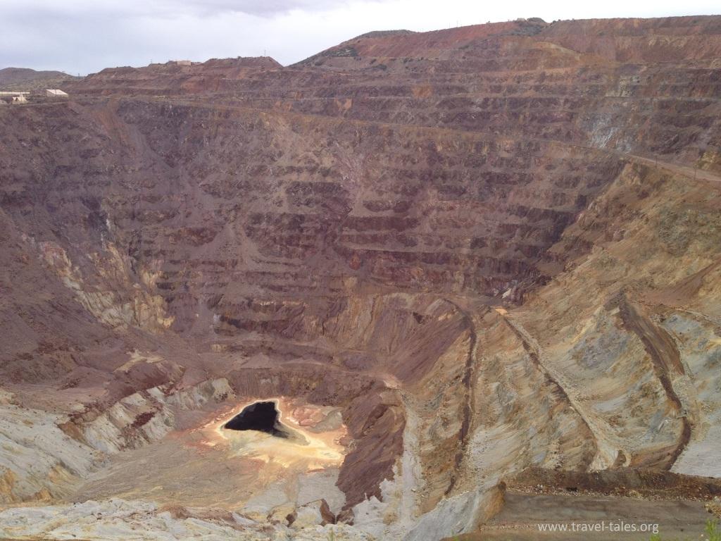 Bisbee copper mine