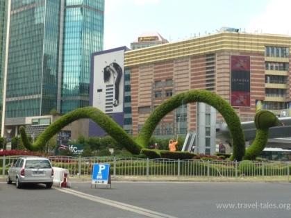 Shanghai 2 Pudong dragon 1