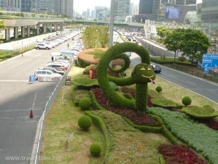 Shanghai 3 Pudong dragon 2