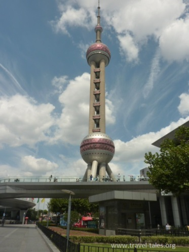 Shanghai 4 TV tower