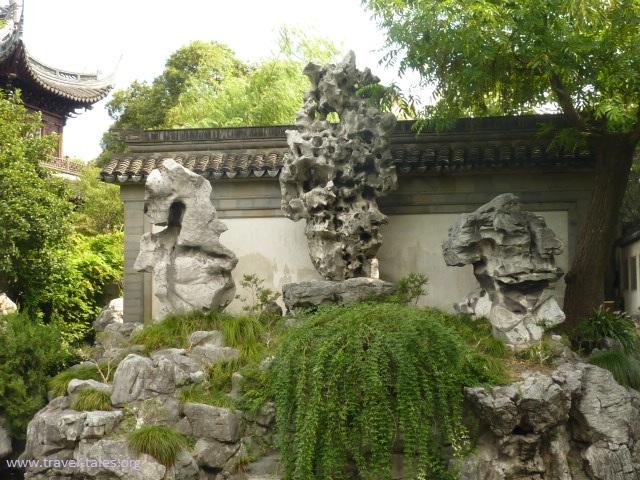 Shanghai Yuang Garden jade rock
