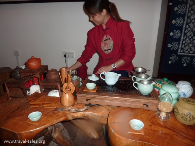 Guilin 19 tea ceremony