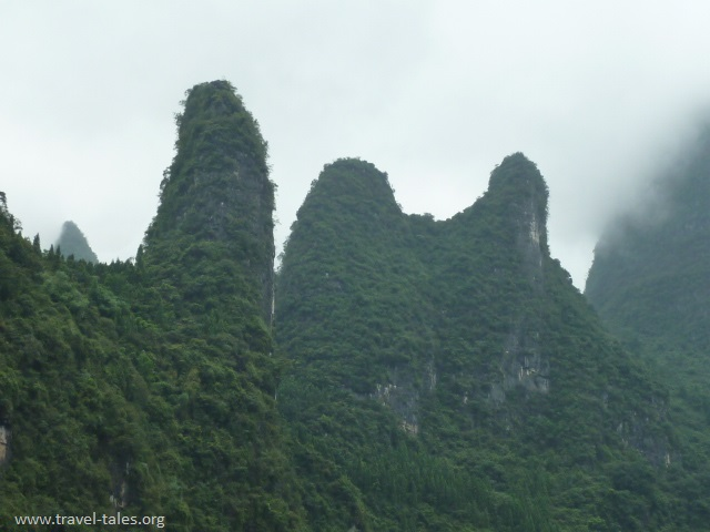 mountains Guilin 109 Li river cruise 78
