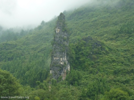 mountains Guilin 90 Li river cruise 59