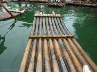 Guilin 142 bamboo boat