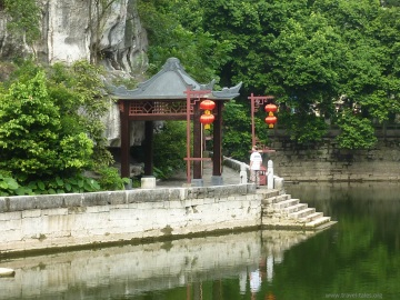 Guilin 236 Princes Palace lake and summer house