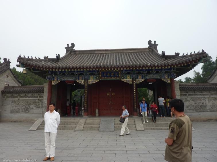 Xi'an 12 Goose pagoda entrance