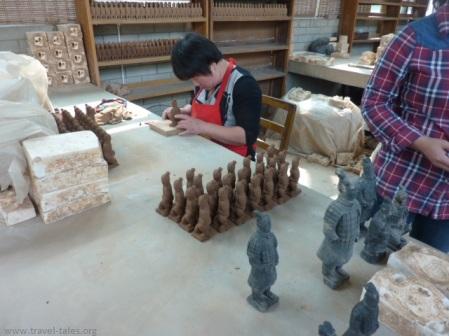 Xi'an 231 Terracotta warriors