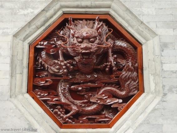 Xi'an 26 Goose pagoda detail