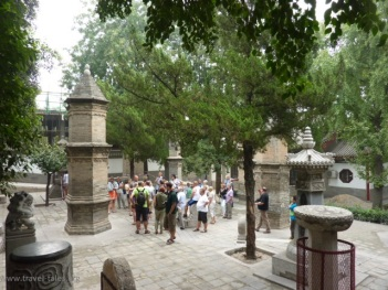 Xi'an 33 Goose pagoda graveyard