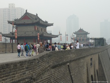 Xi'an 5 wall and guard towers