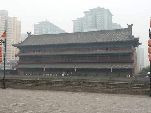 Xi'an 6 central guardhouse east gate side
