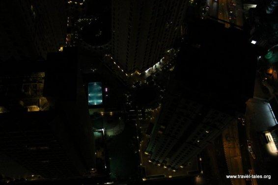 Down the hotel Night