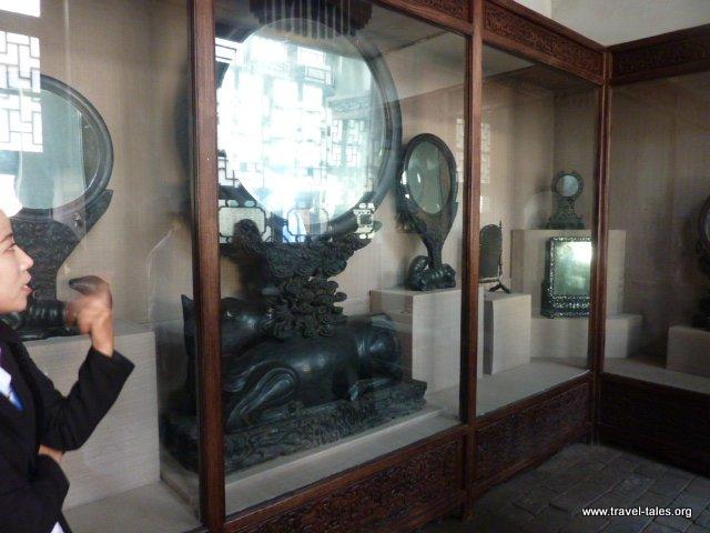 18-Qiao Family House 30 Rhinoceros mirror