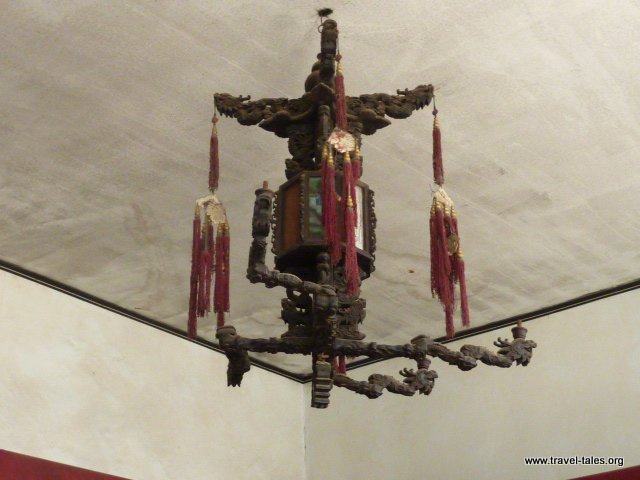 19-Qiao Family House 31 nine dragon lamp